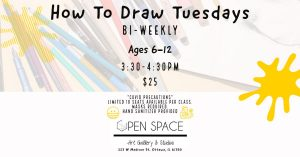 How To Draw Tuesdays - Ages 6-12