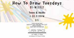 How To Draw Tuesdays - Teens & Adults