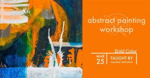 Abstract Painting Workshop: Mark Making