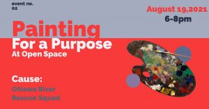 Painting for a Purpose at Open Space Art Gallery &...